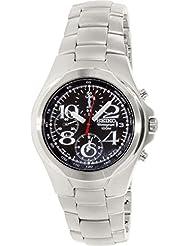 Seiko Men's SND335 Silver Stainless-Steel Quartz Watch