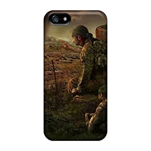 Durable Abstract 3d Back Cases/covers For Iphone 5/5s