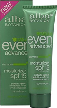 (Alba Botanica? Even Advanced Natural Moisturizer Sea Moss SPF 15 -- 2 fl oz -)