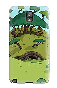 New JasonM Super Strong Adventure Time Tpu Case Cover For Galaxy Note 3