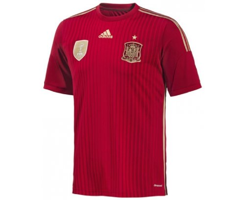 Adidas - Camiseta de fútbol selección española talla M: Amazon.es: Ropa y accesorios