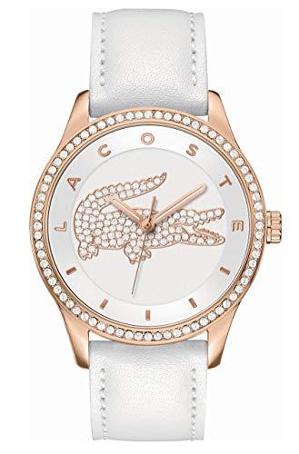 Lacoste-Femme-Analogique-Quartz-Montres-bracelet-avec-bracelet-en-Cuir-2000821