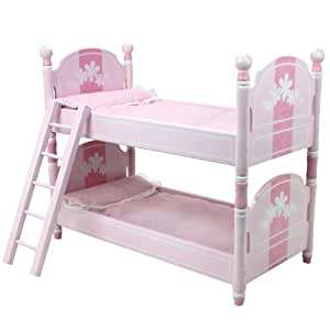 Amazon Com 18 Inch Doll Bunk Bed By Sophia S Doll Bedding Ladder