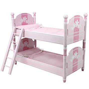 18 Inch Doll Bunk Bed Bedding Ladder Furniture For American