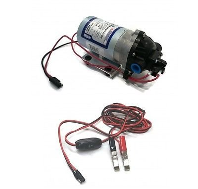 The ROP Shop New SHURFLO Pump - 1.8 GPM w/ 8 Foot Wiring Harness #8000-543-936 Multiple ()