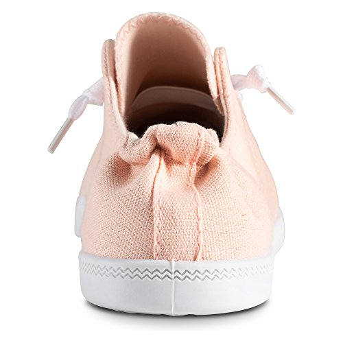 Twisted On Womens Canvas Andrea Sneakers Slip Blush zxqza60rw