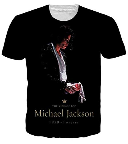 Chiclook Cool Hipster Unisex Fashion Clothing Michael Jackson Printed Tee T Shirt Swag Tops