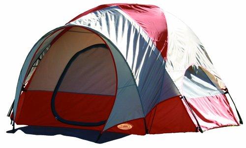 Texsport Pebble Creek 2 Person Vestibule Tent (Red/Tan, 8-Feet X 7-Feet X 54-Inch), Outdoor Stuffs