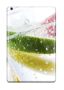 Durable Defender Case For Ipad Mini/mini 2 Tpu Cover(fresh Fruits In Water )