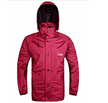 Outdoor Peak Manteau de Pluie pour Moto Vé lo Combinaison Manteau de Pluie pour Pantalons et Veste de Pluie pour Homme et Femmes