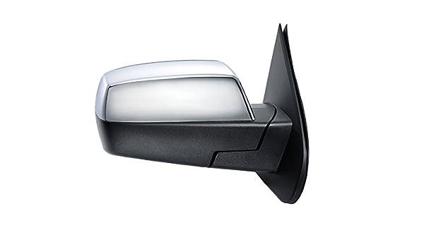 Chrome Mirror Cap Cover Driver Passenger PAIR for Sierra Silverado Pickup Truck