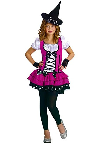 Sugar and Spice Witch Child Costume Size 8-10 - Dress Baby Spice Costume
