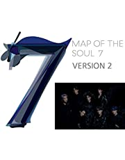 MAP of The Soul : 7 BTS Album (Version 2) CD+Official Poster+Photo Book+Lyric Book+Mini Book+Photocard+Postcard+Coloring Paper+Sticker+(Extra BTS 6 Photocards and 1 Double-Sided Photocard)