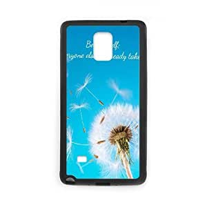 Be Yourself Samsung Galaxy Note 4 Cell Phone Case Black KPP