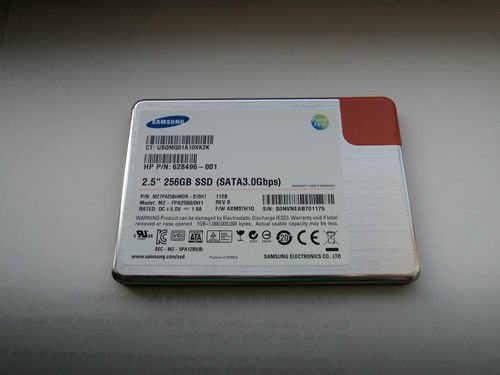 Samsung 256GB SSD Model: MZ-7PC2560/0H1 (HP specific model) by Samsung