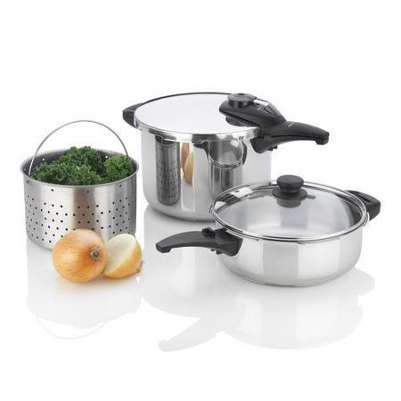 Fagor Innova 2 Piece Pressure Cooker Set