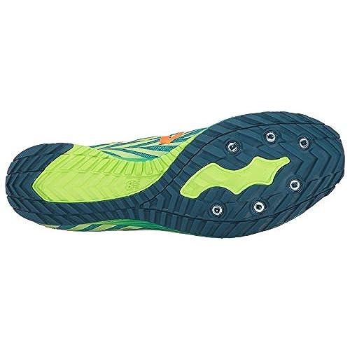 New Balance Women's 900V Removable Spike Track Shoes, Alpha PinkVivid Tangerine, 8.5 B US