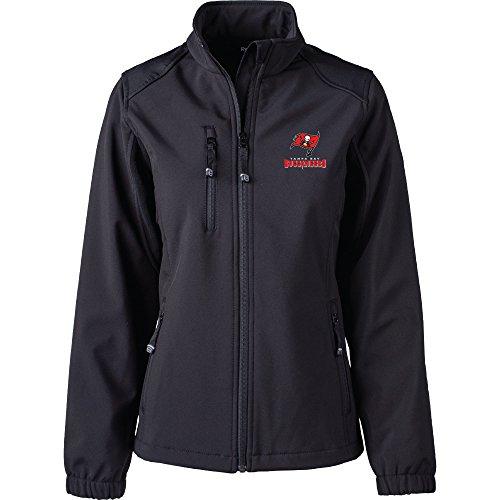 Dunbrooke Apparel NFL Tampa Bay Buccaneers Women's Softshell Jacket, Large, ()