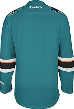 e46a9f839 Amazon.com   NHL San Jose Sharks Men s Center Ice Team Color Premier Jersey