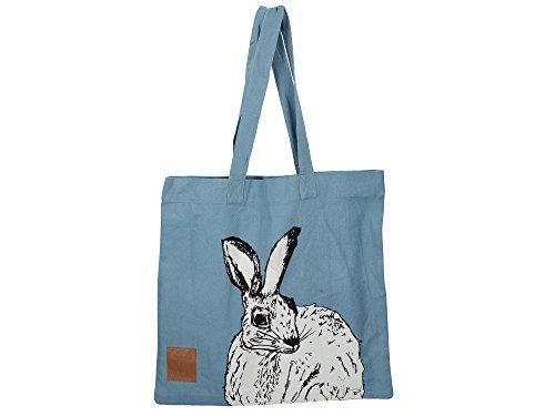 Creative Tops Wild liebre Tote Bag, Azul