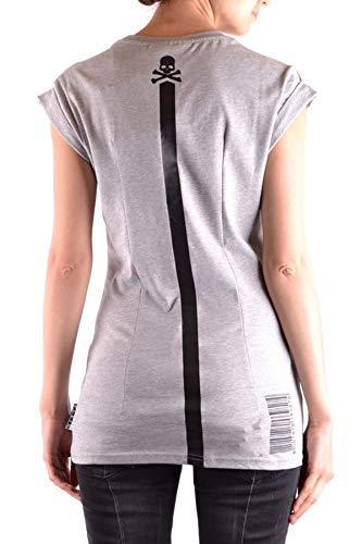T shirt Plein Algodon Philipp Gris Mujer Mcbi33812 1wxYX4