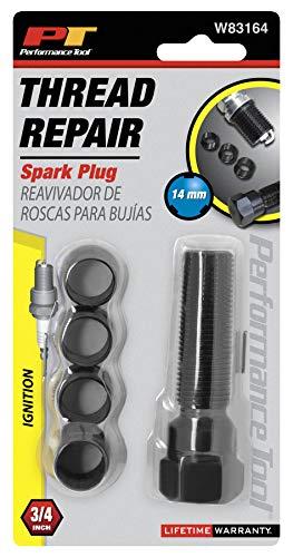Performance Tool W83164 Spark Plug Rethread Kit, 14mm ()