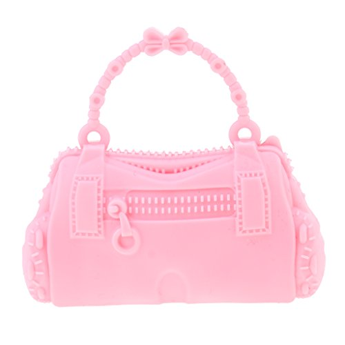 Handbag Kid Butterfly Accessories Pretty Baoblaze Dolls Plustic Barbie Bag Pink 28 Bag Doll 30cm Girl for Shoulder tFZ6Rxw7Zq