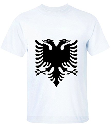 Break Time Women's Double Headed Eagle printed short sleeve t-shirt white