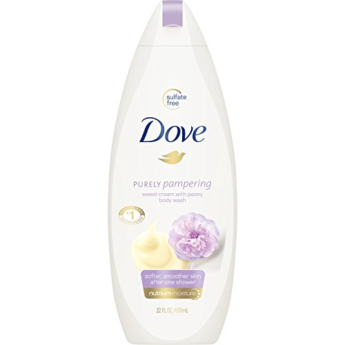 Dove Purely Pampering Body Wash, Sweet Cream and Peony 22 oz