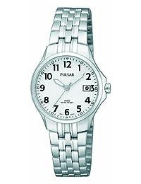 Pulsar Uhren Klassik PH7221X1 - Reloj de cuarzo para mujer con correa de metal