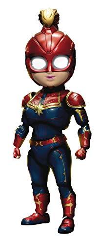 Beast Kingdom Captain Marvel: Carol Danvers EAA-075 Egg Attack Action Figure -