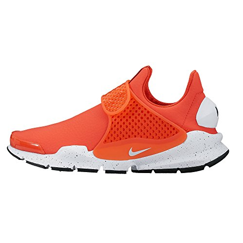 Nike, Donna, Wmns Sock Dart PRM Max Orange, Pelle, Sneakers, Rosso