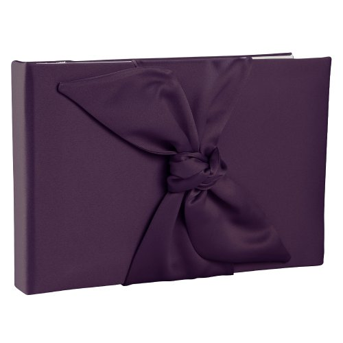 Ivy Lane Design Love Knot Guest Book, Eggplant by Ivy Lane Design