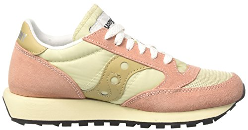 Vintage Rose Original 31 Femme Tan Baskets Mut Saucony Clay Jazz qECw5X