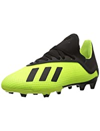 adidas Boys' X 18.3 Firm Ground Soccer Shoes