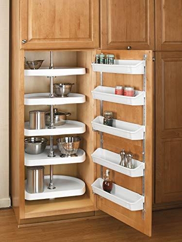 Rev-A-Shelf Bins (Almond) Door Storage,