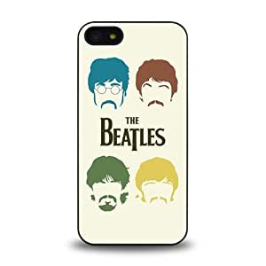 iPhone 5 5S case protective skin cover with forever rock band The Beatles cool poster design #6