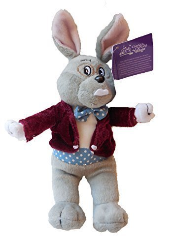 Mayor Clayton Plush Toy Bunny in Maroon Waistcoat by Give kids the world