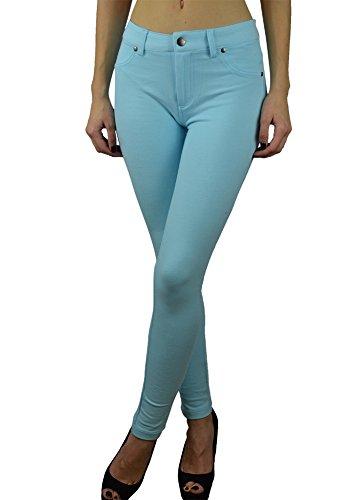 Alfa Global Skinny Dress Pants (S, Sky Blue)