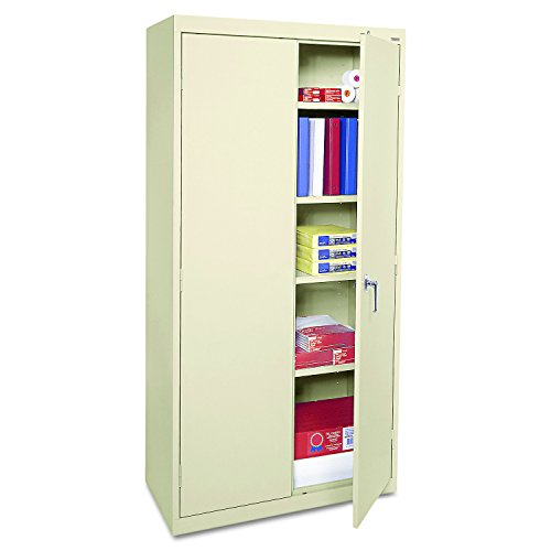 Alera CME7218PY Economy Assembled Storage Cabinet, 36w x 18d x 72h, Putty by Alera