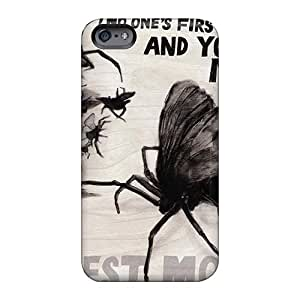 Bumper Hard Cell-phone cases for Christmas and Happy New Year For Apple Iphone 6plus (NUp525ABPk) Unique Design Fashion Modest Mouse Band Skin