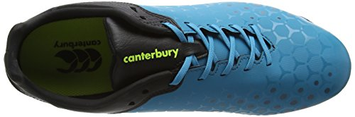 Canterbury Control Club 6 Stud, Botas de Rugby para Hombre Azul (X13 Atomic Blue)