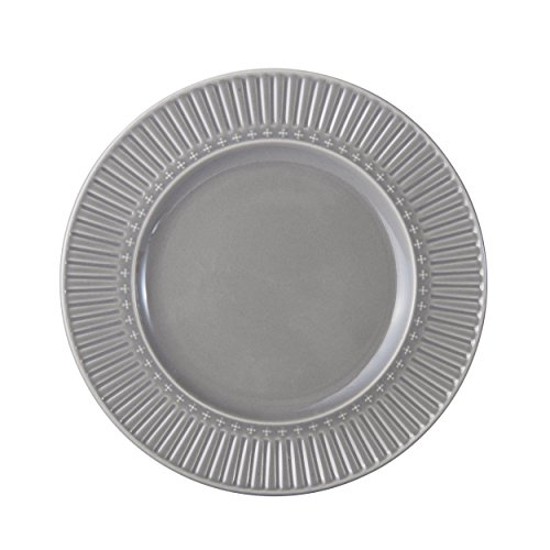 Mikasa Italian Countryside Accents Salad Plate, Fluted Grey