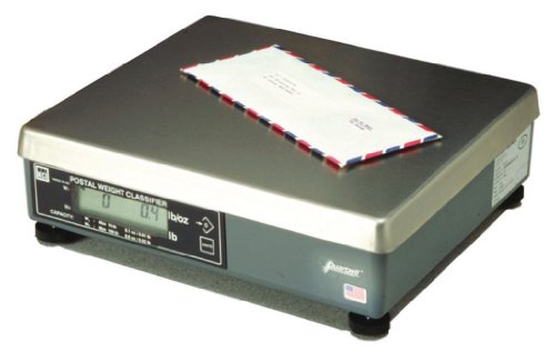 7620 Scale - Brecknell 7620-150 Mailing & Parcel Shipping Scale, 150 lb Capacity, 0.005 lb Resolutions
