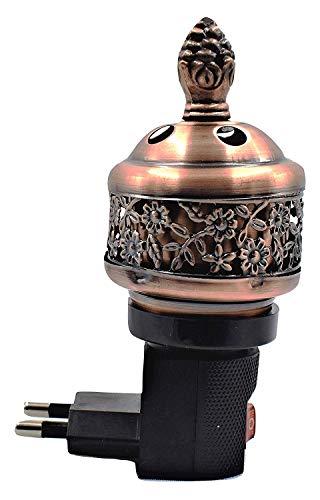 5billion Electric Bakhoor Burner Mini Aroma Incense BurnerFREE US Plug+Camphor- Oud Resin Frankincense Camphor Positive Energy Gift