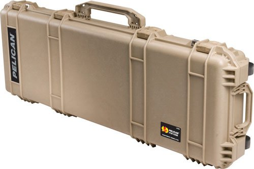 (Pelican 1720 Rifle Case With Foam (Desert Tan))