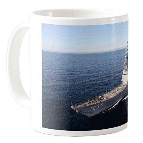 AquaSakura - Uss Paul F Foster Destroyer Spruance Class Dd 964 Us Navy - 11oz Ceramic Coffee Mug Tea Cup