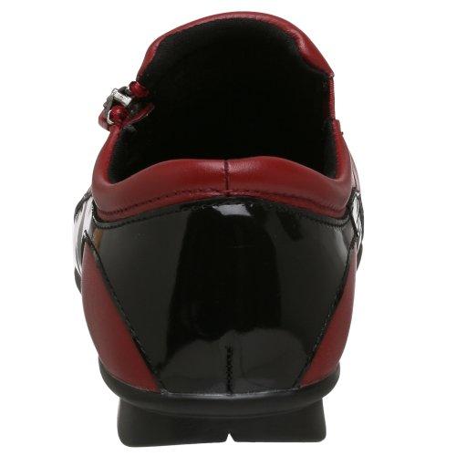 Trok Schoenen Dames Angie Slip-on Rood / Zwart