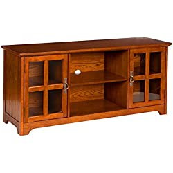 Southern Enterprises Remington Media Stand - Mission Oak