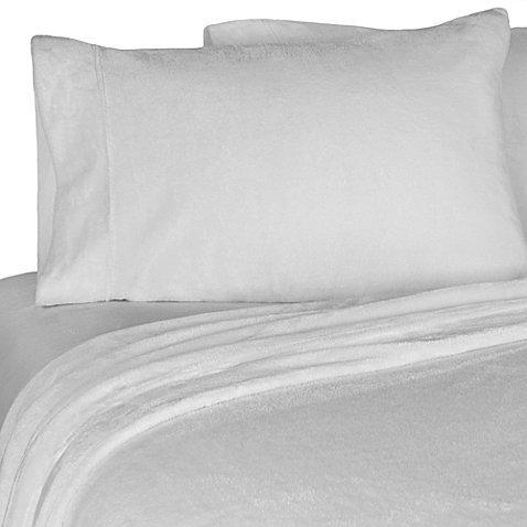 Life Comfort Fleece Super Soft King 6- Piece Plush Luxury Sheet Set with 4 Pillow Cases ()